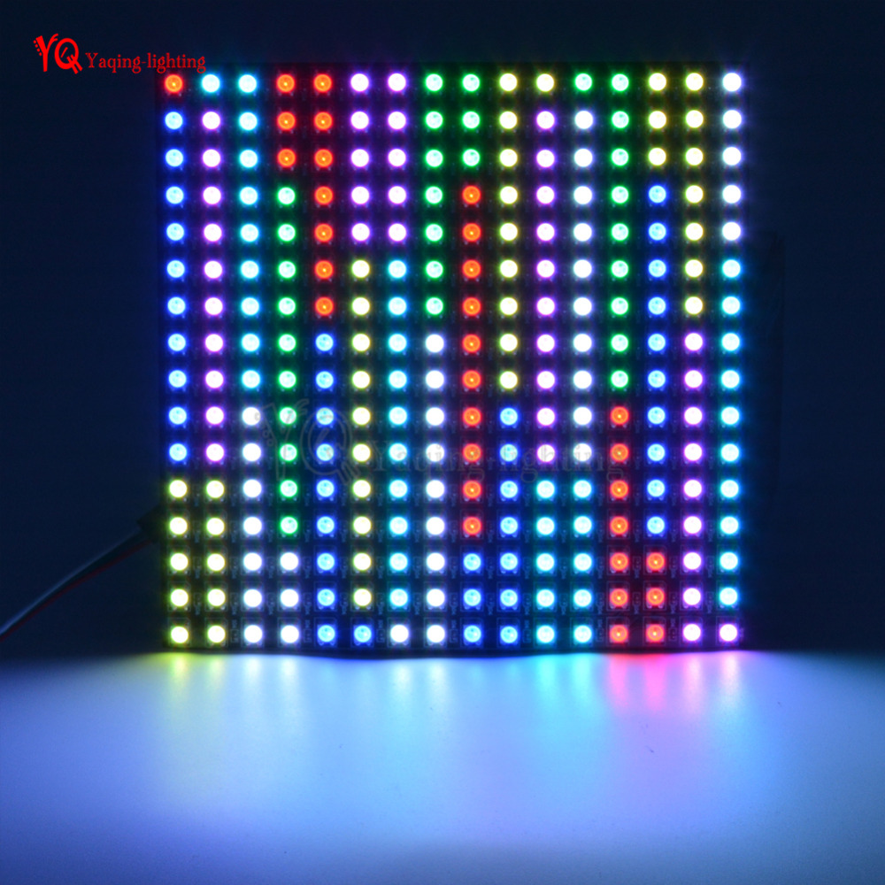 O 8 * 32 16 * 16 8 * 8 pixels WS2812B écran flexible programmé - Éclairage LED - Photo 4