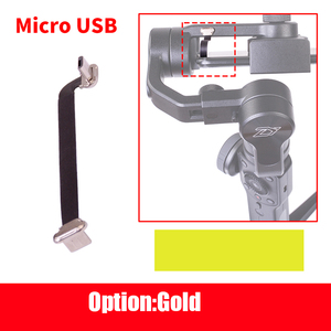 Image 4 - Mini 75mm 0 espacio Zhiyun Suave 4 /3 Gimbal Cable de carga Samsung Cable de tipo C iphone 6 7 8 x Cable Android Cable Micro USB