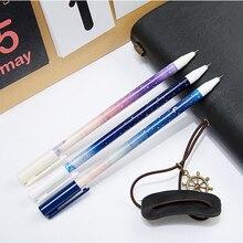 цены 3 pcs/lot 0.35 mm Good Night Starry Sky Gel Pen Ink Marker Pen School Office Supply Escolar Papelaria Office Signature Pen
