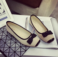 Мода женская обувь удобные плоские туфли Новое прибытие-1561 Балетки обувь большого размера обуви квартир Женщин