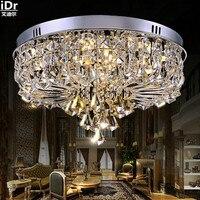 Оптовая продажа с фабрики роскошные высокого класса светильники Оптовая Crystal LED современной гостиной Потолочные светильники rmy 090