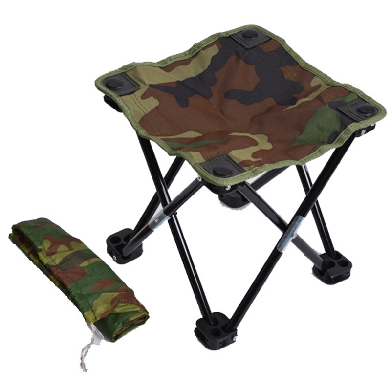 Surprising Us 14 69 35 Off Camping Hiking Beach Portable Fishing Chair Camouflage Folding Stool Recreational Fishing Gear In Fishing Chairs From Sports Inzonedesignstudio Interior Chair Design Inzonedesignstudiocom