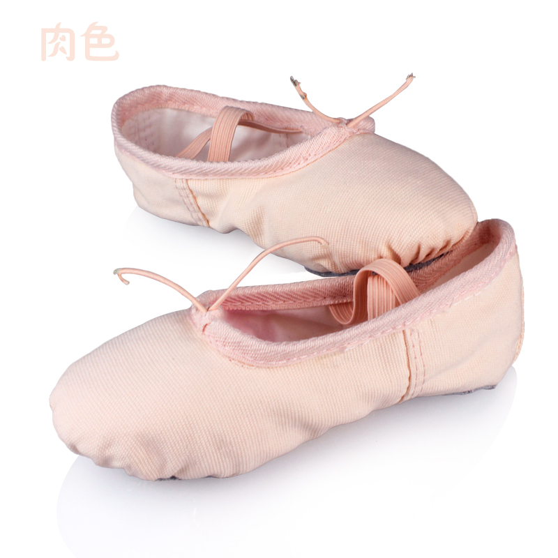Black And White Ballet Dance Shoes