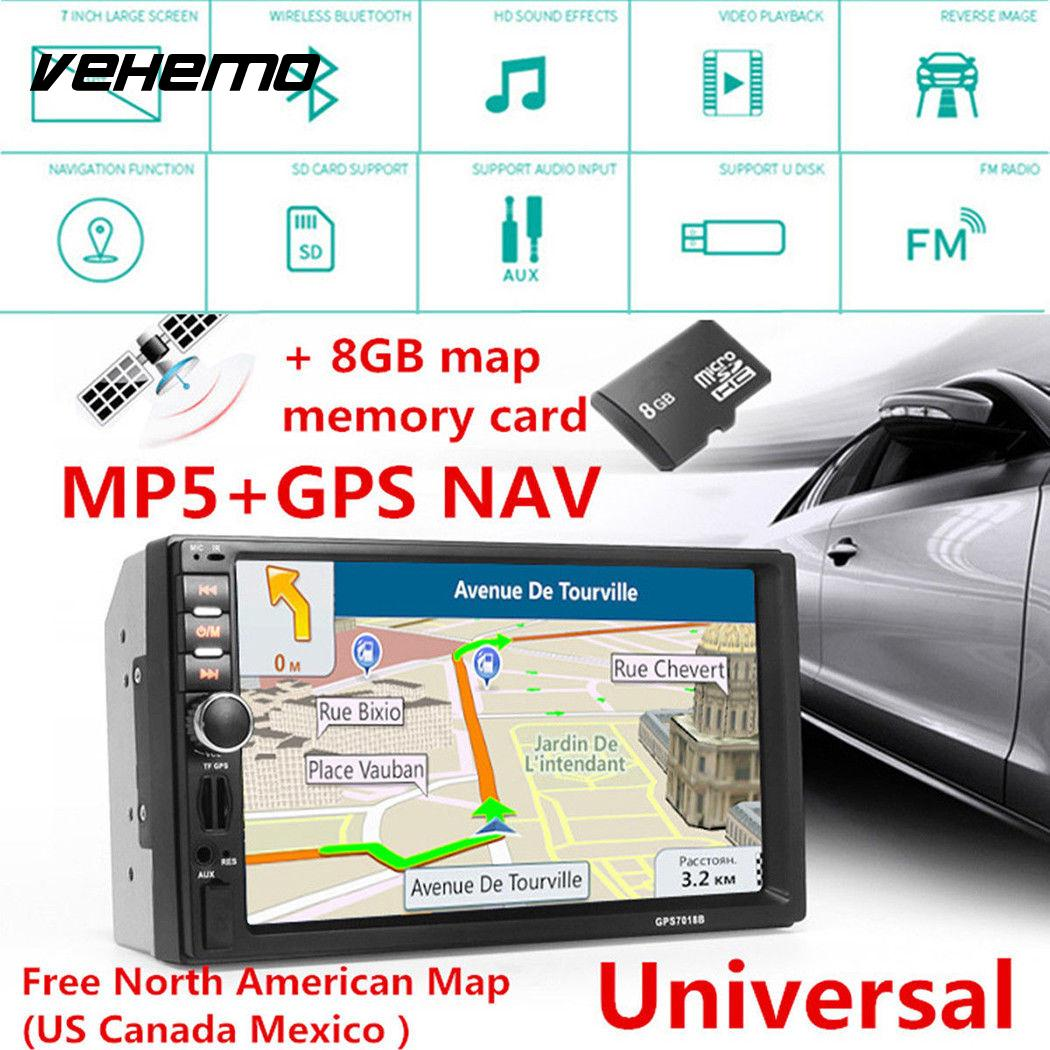 Vehemo FM/USB/AUX 7inch Smart Flexible Auto MP5 Player MP5 Support TF Card Car MP5 Player Automobile MP5 Player Automotive vehemo gps navigation function audio car mp5 player mp5 video player flexible multimedia player automobile
