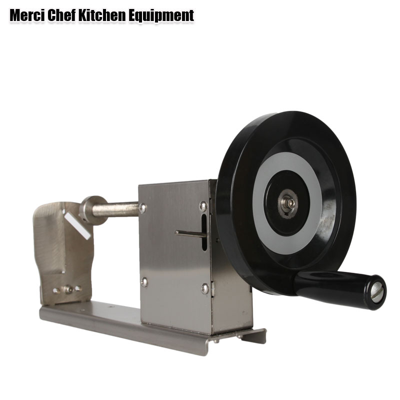 все цены на Stainless Steel Twist Tornado Potato Cutter Machine, spiral potato slicers Food Processor Kitchen Accessories Vegetable Tools онлайн