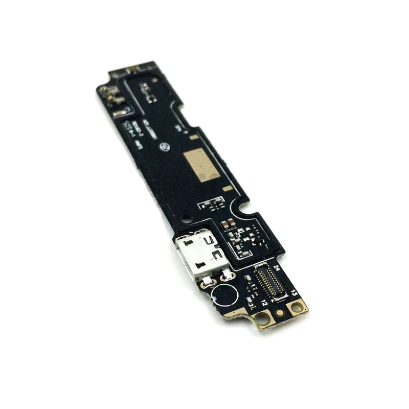 New Microphone Module+USB Charging Port Board Flex Cable Connector Parts For Xiaomi Redmi Note 2 Replacement
