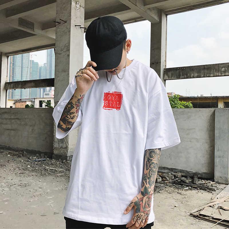 AELFRIC японский Ukiyoe стиль для мужчин футболка волна Карп Рыба 3d принт 2018 летние футболки хлопок Oversize свободные безрукавки ZY13