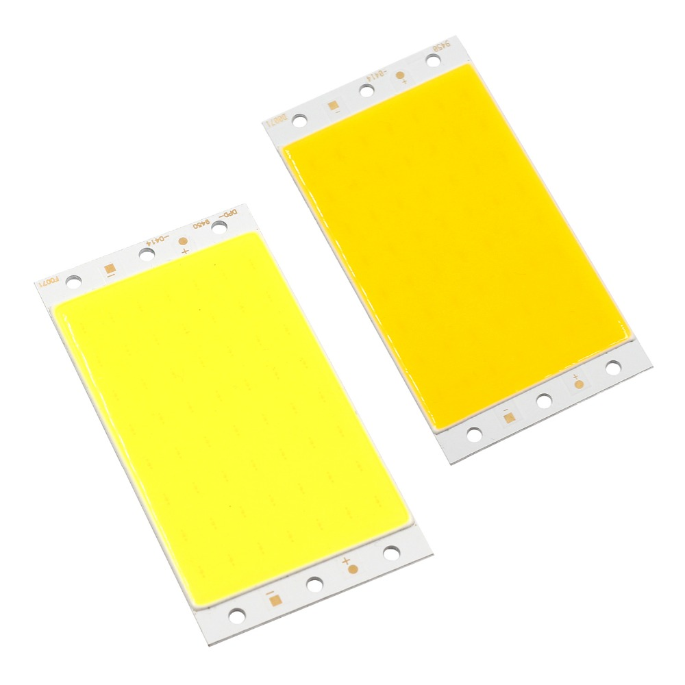 Wholesale 12v 5-8W strip led cob modules no need heatsink popularly used for led bar table light.car light  and other lights strength training
