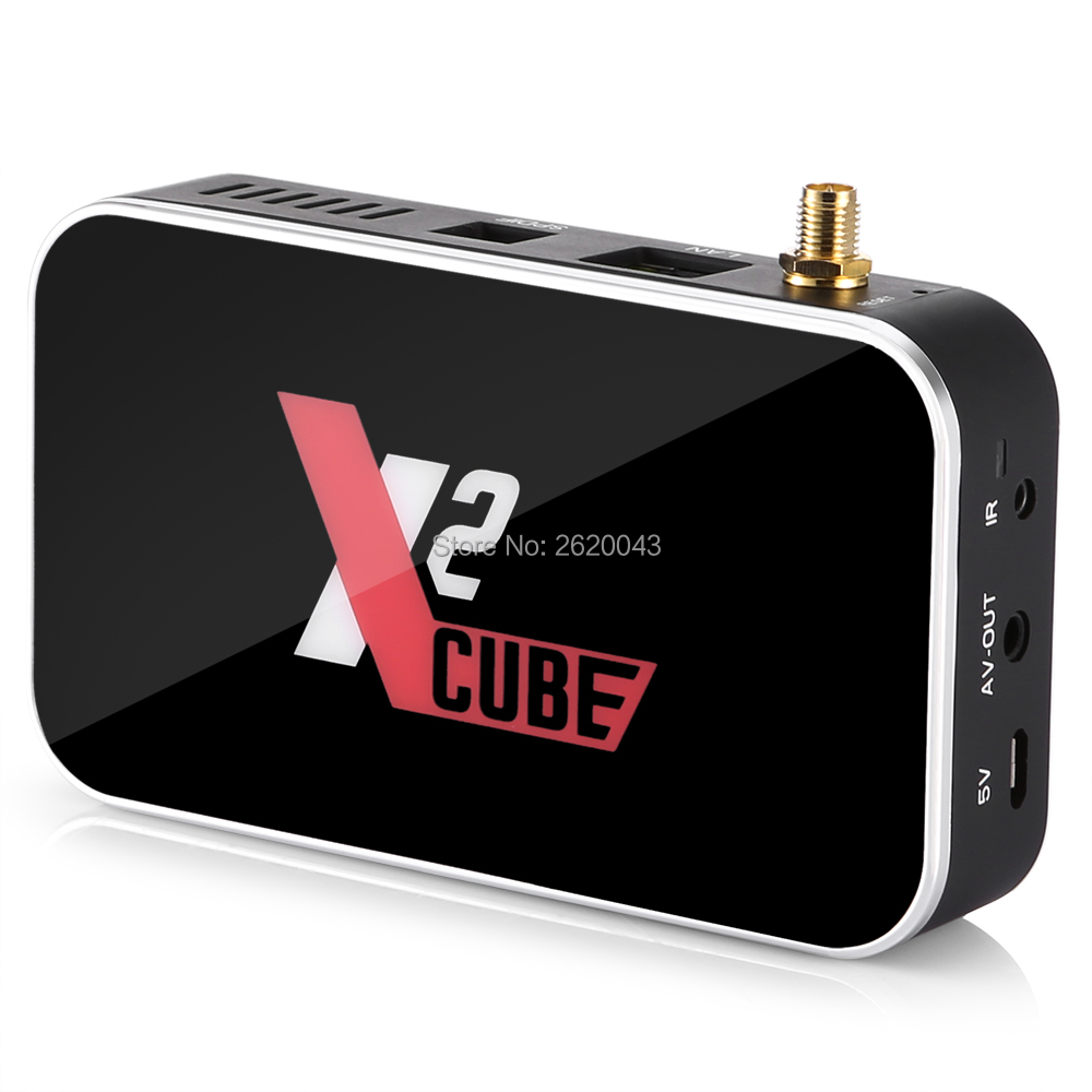X2 CUBE Smart Android 9.0 TV Box Amlogic S905X2 2GB DDR4 16GB ROM décodeur 2.4G/5G WiFi 1000M Bluetooth 4K HD lecteur multimédia - 6
