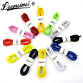 12 Color 100cm Sneaker Lock lace cordones elastics zapatillas not tie elastic shoelaces Locking Shoe Laces accessories