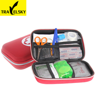 Portable first-aid kit Car Home Travel Essentials Medipak Fire emergency kits earthquake survival kit 2016 free shipping
