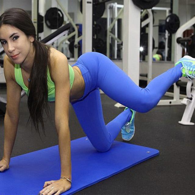 Aliexpress.com : Buy Yoga Pants Women Sports Tight Leggings Candy ...