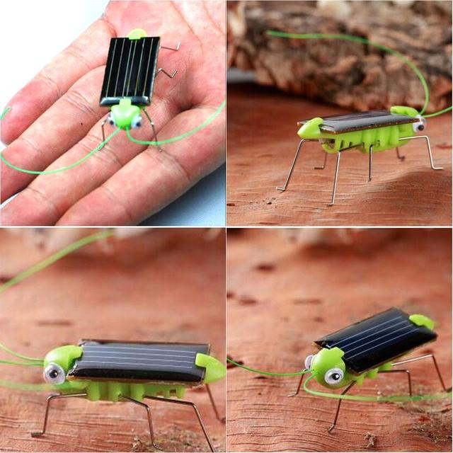 2019 New Solar Grasshopper Educational Solar Powered Grasshopper Robot Toy Required Gadget Gift Solar Toys No Batteries For Kid 4