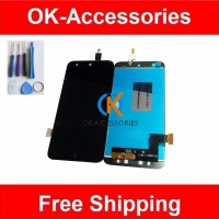 100 High Quality For ZTE X5 LCD Display Touch Screen Digitizer Assembly Black Color 1PC Lot