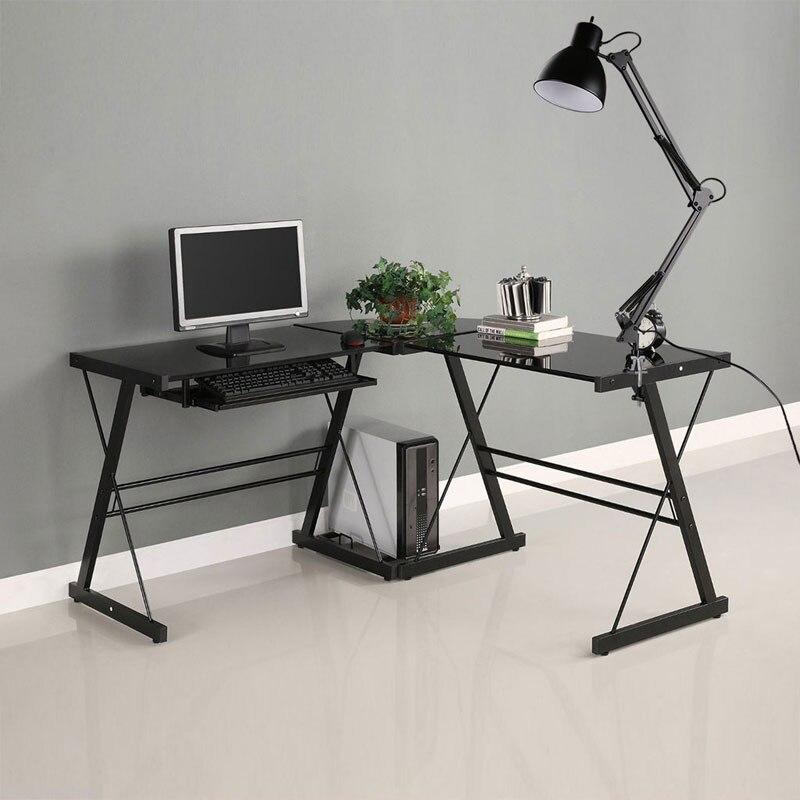 Image 2 - Flexible Swing Arm Clamp Mount Desk Lamp Black Table Light Reading Lamp for Home Office Studio Study 110V 240V for Home Room-in Desk Lamps from Lights & Lighting