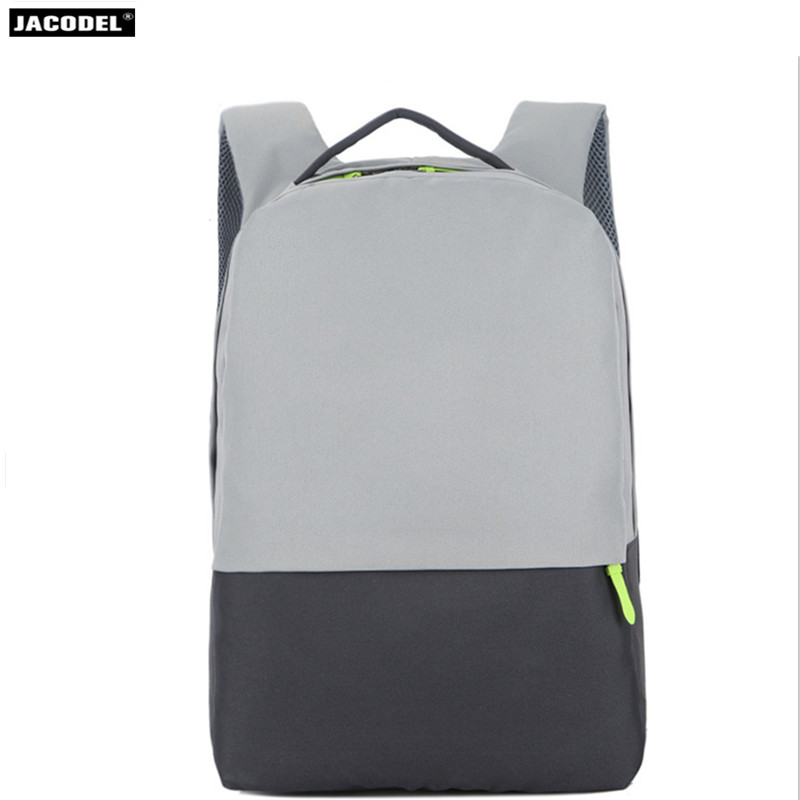 Jacodel Men 16 Laptop Backpack Anti Theft Backpack Simple Business Women School Notebook Bag Nylon Waterproof Travel Backpack