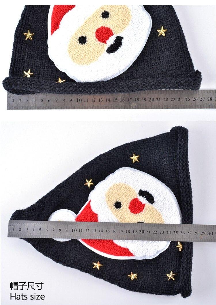 Precioso Otoño y sombreros de invierno para las mujeres de punto de ...