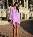Женщины одеваются 2016 hot свободного покроя платье шифон vestido феста халат летнее платье летом стиль Большой размер женской одежды свободного покроя платье