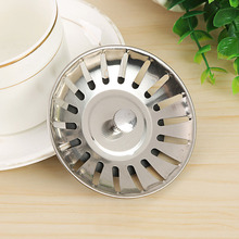 Under Sink Water Filter Drain Strainer Plug Gadget Bathroom Stainless Steel Home & Kitchen Supply Stopper