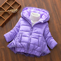 traje de esquí de niña para exterior, chaquetas gruesas para bebé niña,chaqueta de moda con apertura frontal 2016, abrigo cálido, ropa para niños, chaqueta infantil de invierno con capucha