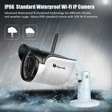 Homtrol Onvif wifi IP Camera Outdoor Security Waterproof IP66 Network 1.0MP HD CCTV wireless IP Camera Support Micro SD Card