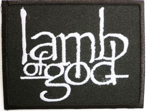RETAIL LAMB OF GOD Music Band Iron On Sew On Patch Tshirt TRANSFER MOTIF APPLIQUE Rock