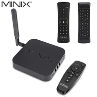 MINIX NEO U9 H+NEO A3 Android 7.1 TV BOX With Voice Input Hebrew Air Mouse Amlogic S912 H Octa Core 2G 4K HDR WIFI Smart TV BOX