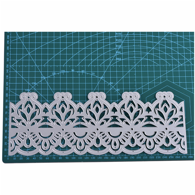 InLoveArts 2018 Lace Hollow Border Frame Metal Cutting Dies