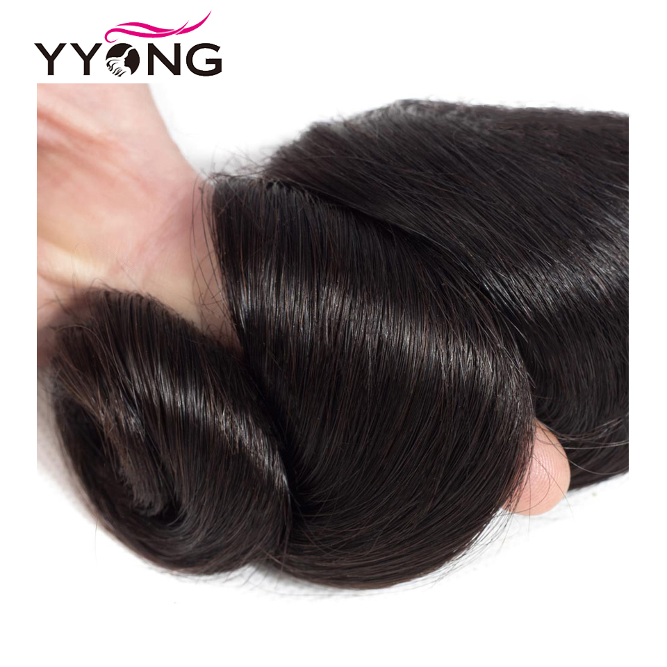 Yyong Hair Loose Wave 3 Or 4 Bundle Deals Brazilian Hair Extensions 8-30 Inch Can Be Colored 100% Remy Human Hair Weave Fashion