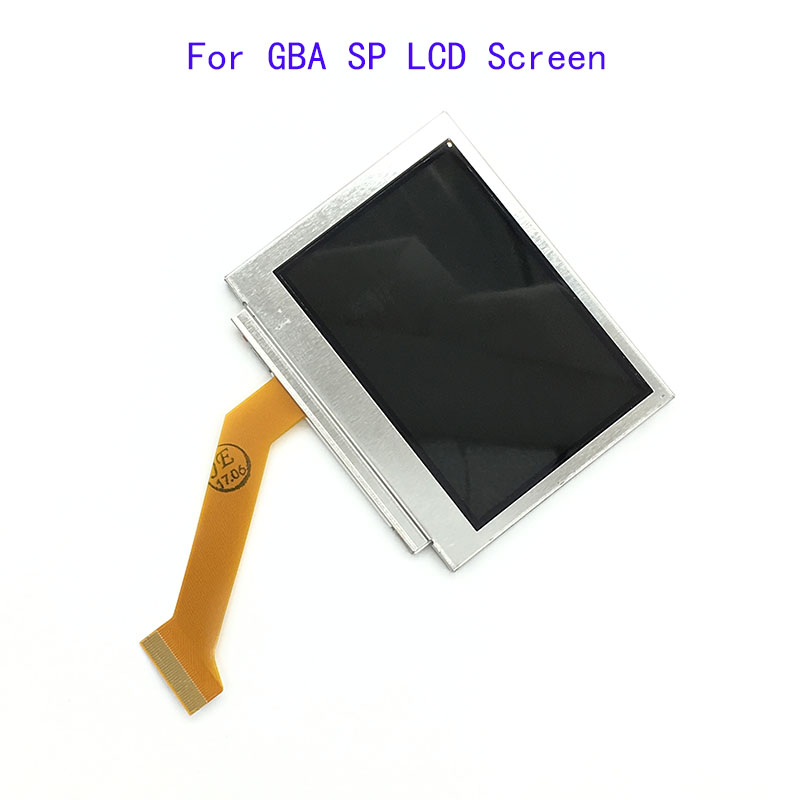 For Nintendo Game Boy Advance SP For GBA SP LCD Screen OEM Backlit Brighter Highlight AGS-101 [100set 200pcs] brand new rotating shaft hinge axle part for gba sp gameboy advance sp game console replacement