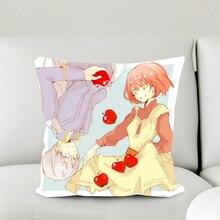 Snow White With The Red Hair Anime Shirayuki & Zen 40*40CM Pillow Case #40605