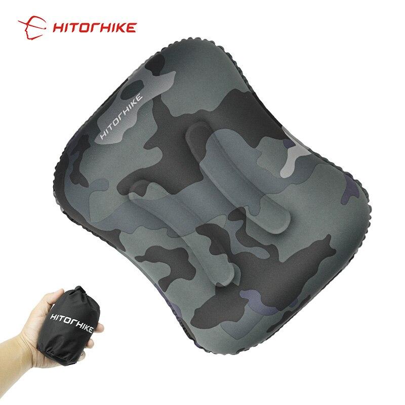 pescoco travesseiro inflavel travesseiro de camping travesseiro para aviao mini acessorios de viagem 4 cores almofadas