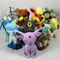 9pcs/lot  go Plush Toys 8inch Umbreon Eevee Espeon Jolteon Vaporeon Flareon Glaceon Leafeon Animals Stuffed Doll Toy