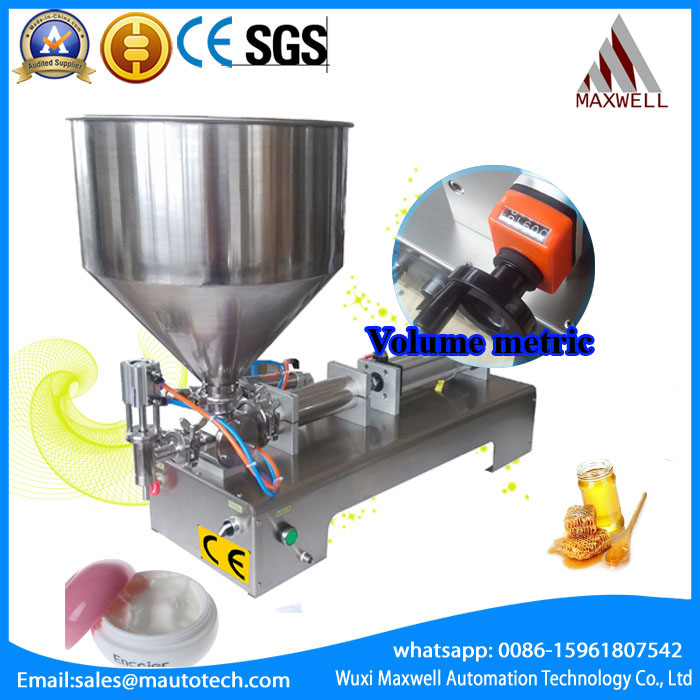 shampoo lotion cream yoghourt honey hopper paste filling machine, pneumatic, semi filler piston hopper filler dual semi automatic liquid filling machine pneumatic semi filler piston filler semi automatic piston