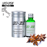 Well Known Brand LEOZOE Star Anise Essential Oil Certificate Of Origin Italy AromatheraHigh Quality Star Anise Oil 30ML
