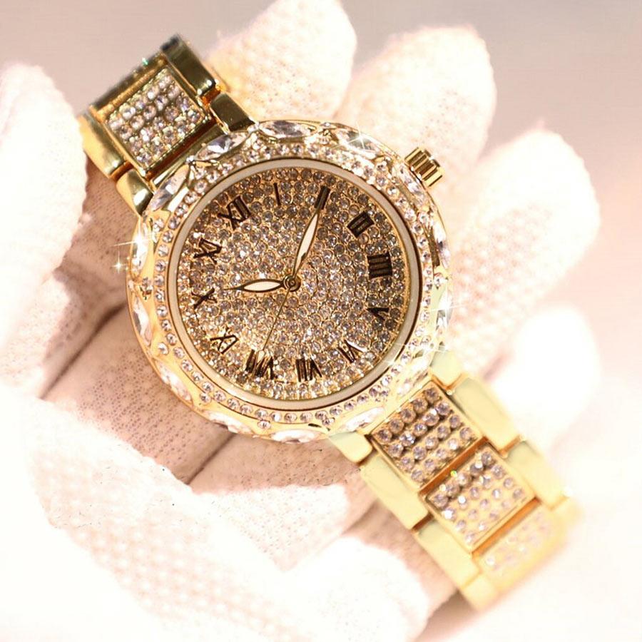 3c57a32f8d5 2018 Hot nova moda Fritillary Dial alta qualidade top marca de luxo de ouro  pulseira de