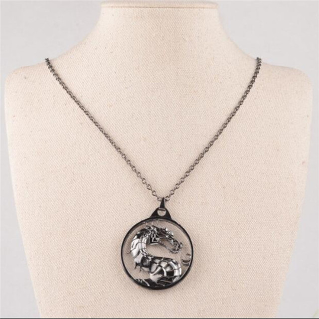 New Male Necklace And Pendant Fashion Movie Jewelry Long Silver Chain Man Classic Cross Pendant Necklace