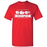 EnjoytheSpirit Rock Paper Scissors Campeón Camiseta Juego Camiseta Nueva Camiseta de Moda de Verano Los Hombres Del Algodón Del O-cuello Cómodo Camiseta