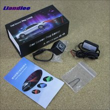 цена на Liandlee For Mercedes Benz C320 C350 C32 C55 AMG Car Laser Light Prevent Rear-end Warning Laser Light Haze Rain Fog Snow Lights