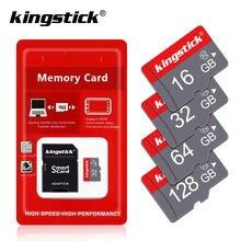 Micro cartão sd tf, 4gb 8 gb 16gb 32gb 64gb 128 gb classe 10 memória flash cartão microsd adaptador, 8 16 32 64 128 gb para smartphones