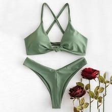 9acddeda11f9 Pink with Green Bikini de alta calidad - Compra lotes baratos de ...