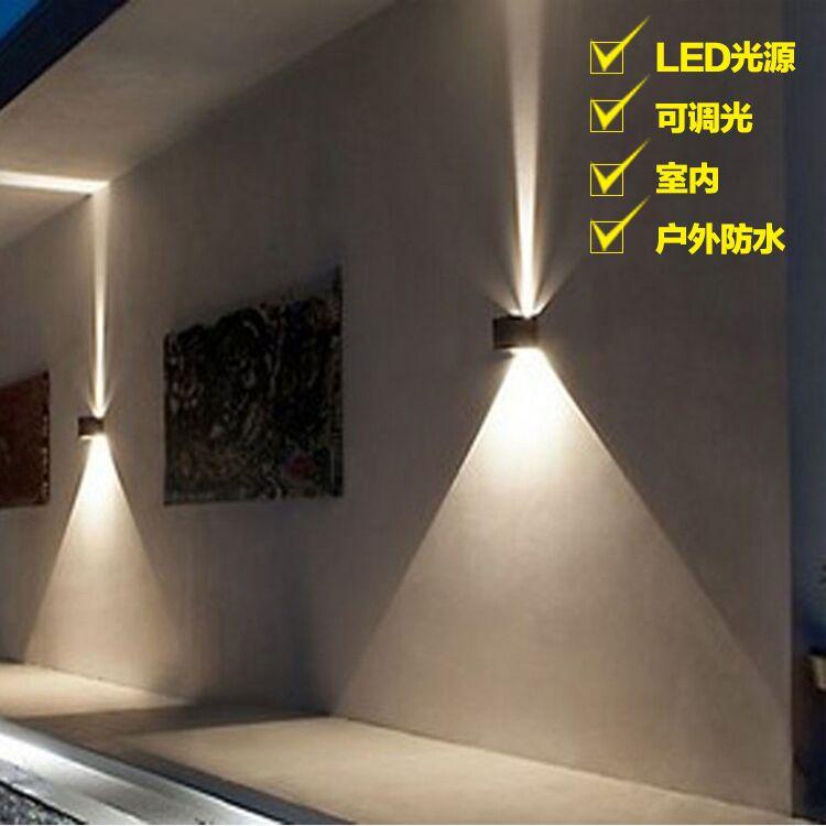 Lighting Basement Washroom Stairs: Outdoor Wall Lamp Outdoor Waterproof Mysterious Light