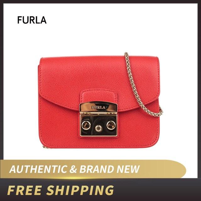 3441d39de5 US $181.09 9% OFF Aliexpress.com : Buy FURLA Metropolis BGZ7 Black  Crossbody Bag BGZ7 from Reliable Shoulder Bags suppliers on CLIM Store