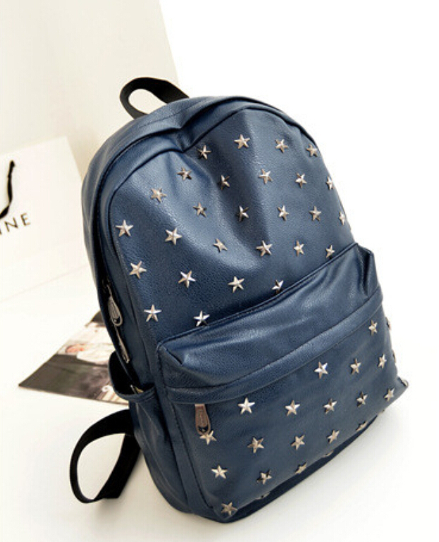 Aliexpress.com : Buy Cool stars rock style women backpack punk ...