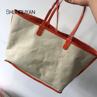 SHUNRUYAN High Quality PU Bags Shoulder Bag Female Casual Tote Women Messenger Bag Set Handbags Women Bag