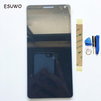 ESUWO LCD Display Assembly For BQ BQS 5070 BQS 5070 LCD Screen Digitzer Touch Screen Assembly