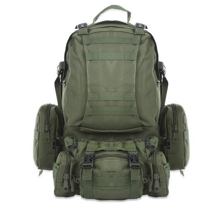 High Quality 50L Large-capacity Multifunction Military Backpack Camouflage Molle Army Backpacks Rucksack Men Travel Backpack