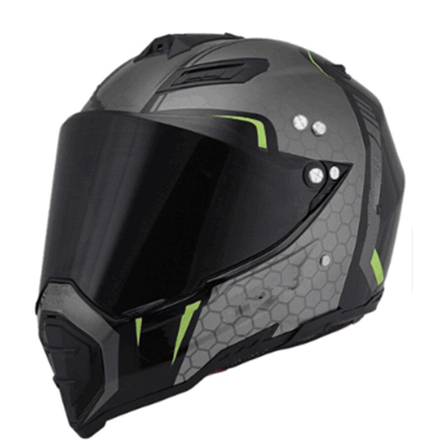Motorbike Motocross Helmets Men ATV MTB DH Downhill Dirt bike Off road Racing Helmets Full face