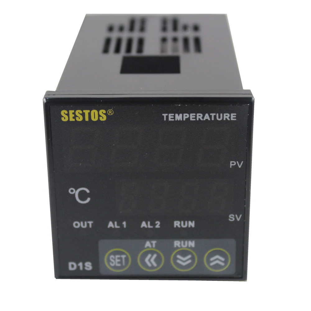 Sestos Dual Digital PID Temperature Controller 2 Omron Relay Thermostat 110-240V D1S-VR-220 + K Sensor + 40A SSR rakesh kumar and vineet shibe comparision conventional pid controller