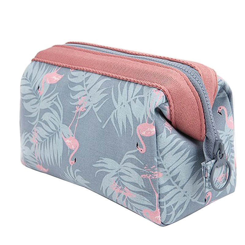 OLAGB New Fashion Polyester Multifunctional Women Cosmetic Bag Portable Storage Travel High Quality Makeup Bag